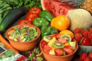 fresh fruit and veg